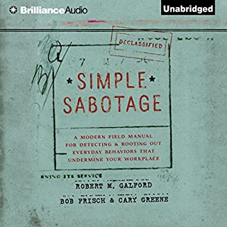 Simple Sabotage cover art