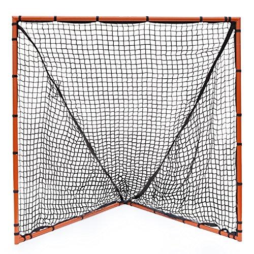 Champion Sports Backyard Lacrosse Goal (Orange, 6 x 6-Feet)