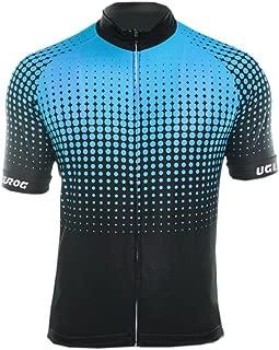 Uglyfrog Men's Cycling Jersey Road Bike Short Sleeves Jersey + Bib Shorts with 3D Padded Set DCDXMZ03