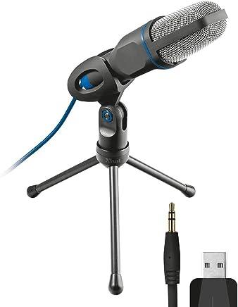 Trust Mico Microfono USB, Standard, Nero - Trova i prezzi più bassi