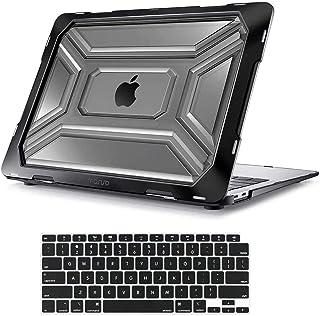 MOSISO Funda Dura Compatible con 2020 MacBook Air 13 Pulgadas A2337 M1 A2179, Carcasa Rígida de Plástico de Alta Resistenc...