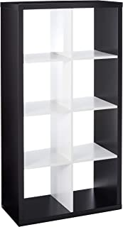 IKEA Kallax Bookcase Shelving Unit Display (Black, White)