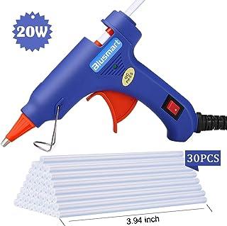comprar comparacion Blusmart Pistola de pegamento de versión mejorada con barras de pegamento y 20W para proyectos de manualidades de bricolaj...