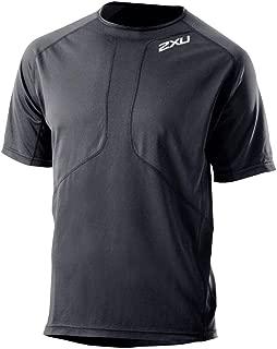 2XU Mens Comp Run Short Sleeve Top