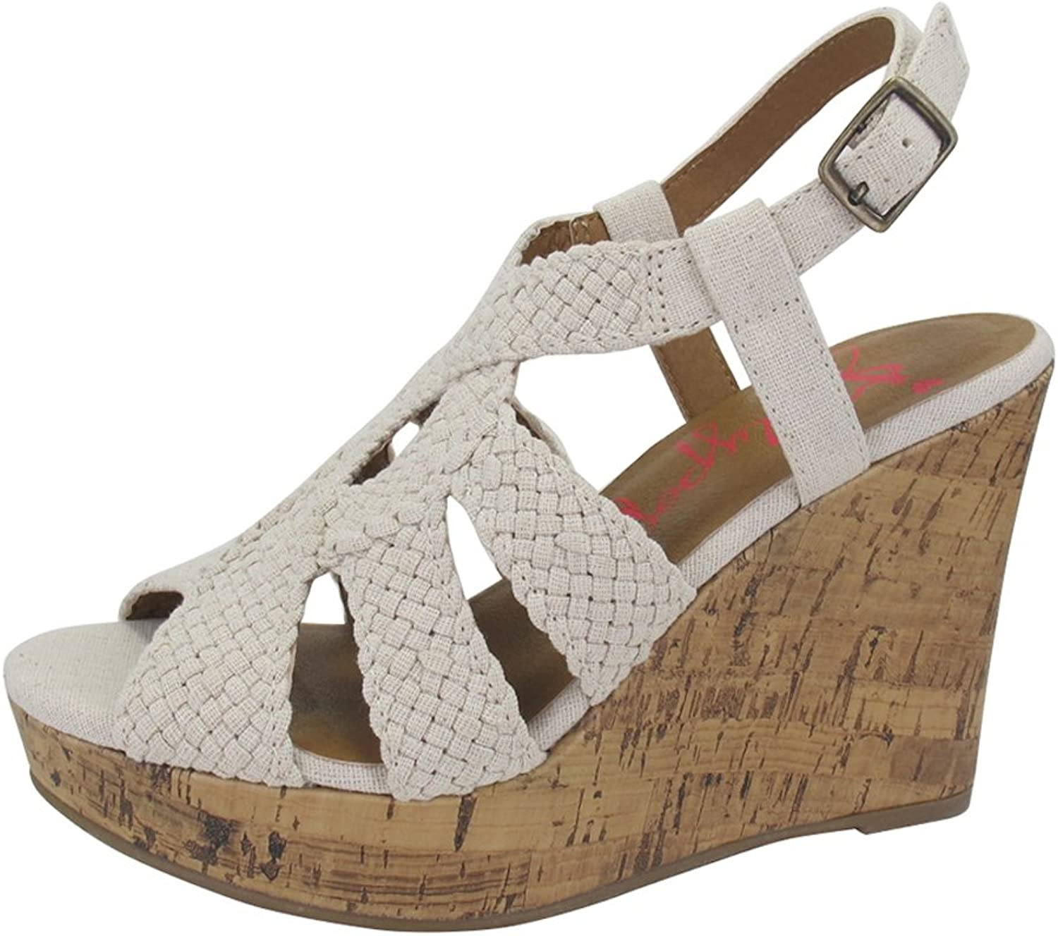 Jellypop Fraisia Womens Wedge Sandals