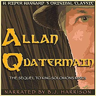 Allan Quatermain audiobook cover art
