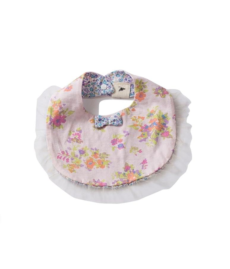 カウントアップうなずく経営者Bijoux&Bee(ビジューアンドビー) ビジュー&ビーフラワービブ 日本製 ピンク FREE BBA16-Z08