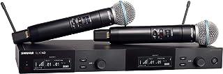 سیستم میکروفون بی سیم Shure SLXD24D / B58 دو کاناله با 2 میکروفون دستی BETA 58A
