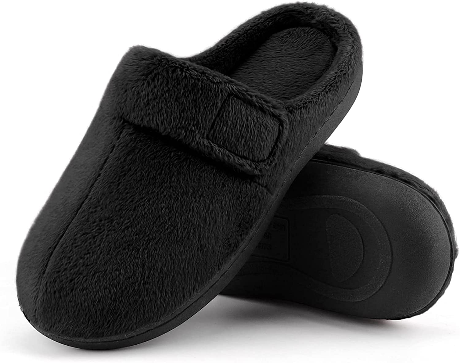 BCTEX COLL Women's Fuzzy Adjustable Sale SALE% OFF Comforta Slippers with Max 45% OFF House