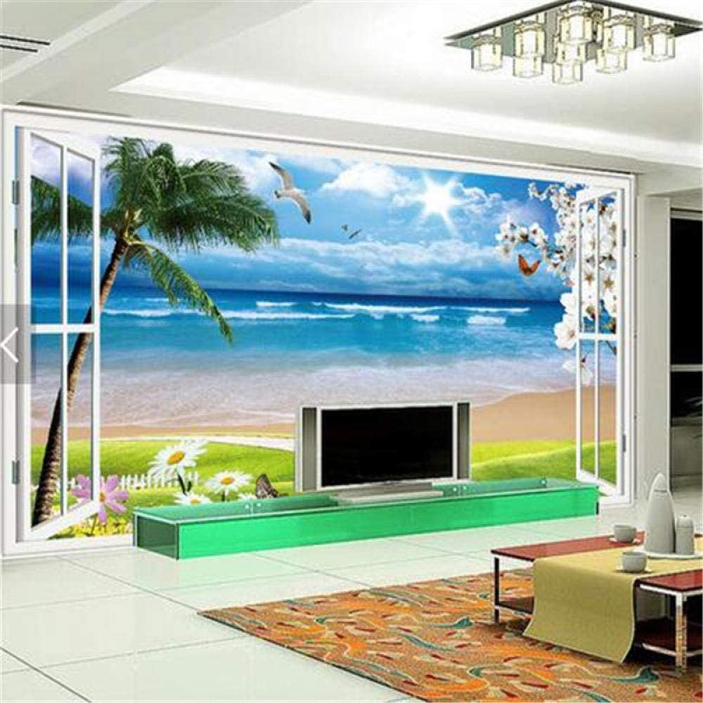 Custom Photo Wallpaper Out The Scenery Clear T 3D Indefinitely Natural Stereo SALENEW very popular!