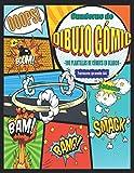 Cómic en blanco 100 plantillas A4: Crea tu propio... para Adultos, Adolescentes y Niños - Cuaderno de dibujo - libro de actividades para principiantes y profesionales