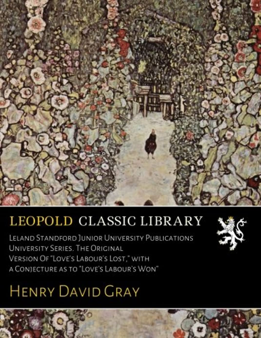 建設クロスきつくLeland Standford Junior University Publications  University Series. The Original Version Of