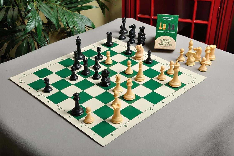 Musketier Chess Kit mit Den Sammler, Kunststoff Chess Set – Stück Nur – 9,5 cm King – Schwarz & Natural B019ZZ9CWM Luxus     | Schön