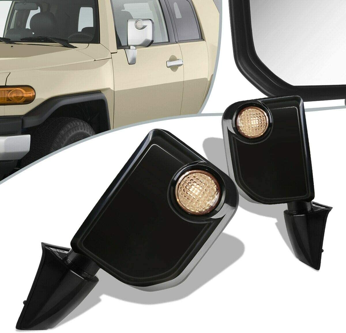 SCKJ Compatible with Pair Power+Turn TO1 Super popular specialty store Mirror New arrival Side Signal Door