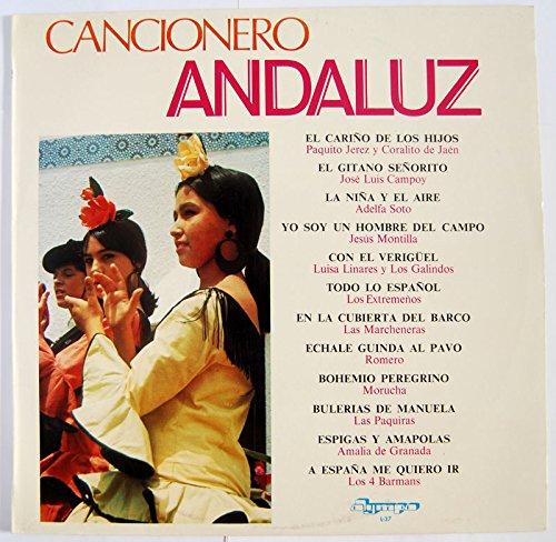 Cancionero Andaluz. Paquito Jerez, Adelfa Soto, Jesús Montilla, Luisa Linares, Morucha, Los 4 Barmans...