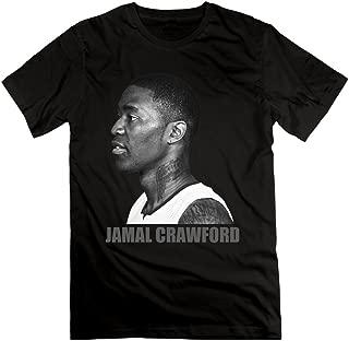 NCKG Men's Jamal Crawford Clippers Short Sleeve T-shirti,