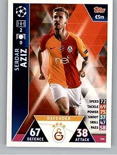 2018-19 Topps UEFA Champions League Match Attax #366 Serdar Aziz Galatasaray S.K. Soccer Trading Card