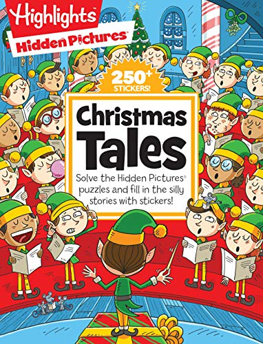 Christmas Tales (Highlights Hidden Pictures Silly Sticker Stories)