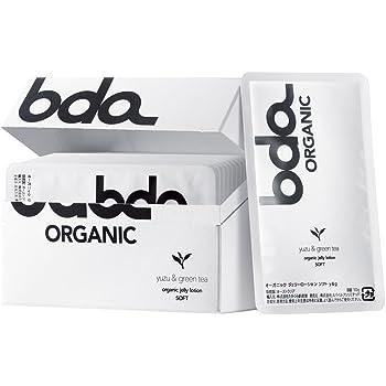 bda ORGANIC オーガニックジェリーローションソフト ユズ&グリーンティ カード型個包装10枚入り