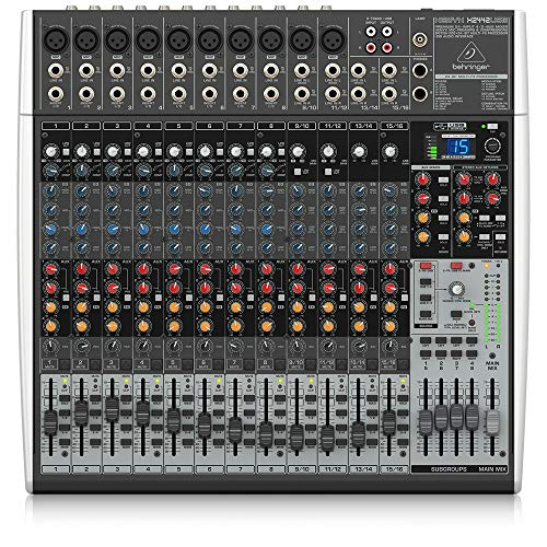 Behringer Xenyx X2442USB Premium 24-Input 4/2-Bus Mixer with USB/Audio Interface. Buy it now for 319.00