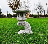 Pagoda Japonesa de Piedra, Linterna Lectura pequeña Estatua Adorno de jardín