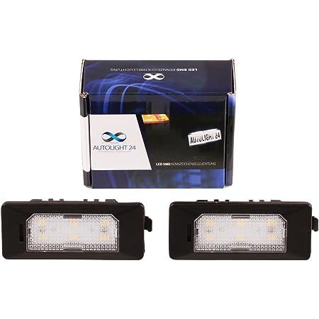 Premium Led Kennzeichenbeleuchtung Nummernschildbeleuchtung Für 610 7 Auto