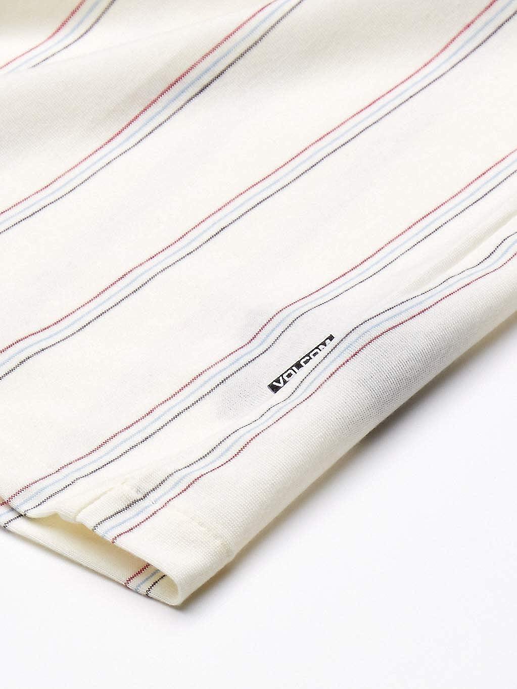 Volcom Mens Cylis Striped Polo Short Sleeve Shirt