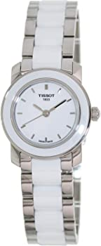 Tissot T-Trend White Ceramic Women's Watch (T0642102201100)