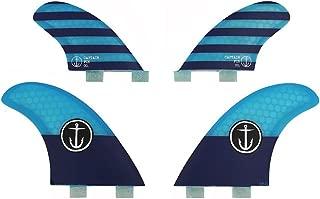 Captain Fin Co Classic Medium Surf Fins Twin Tab 4