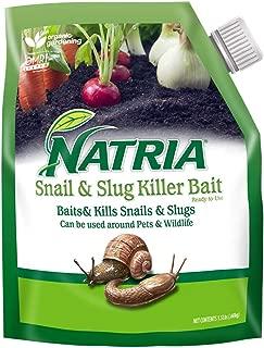 Natria 706190A Snail and Slug Killer Bait Granules, 1.5 lb