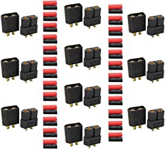 EKFAY 10 Pairs Black XT60 Male Female Bullet Connectors Power Plugs for RC Lipo Battery Quadcopter Multicopter