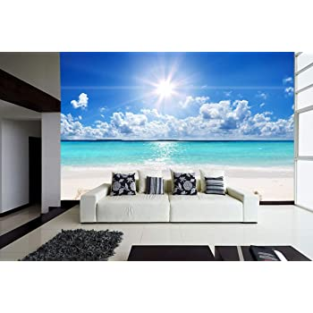 Fotomural Motivo Playa Perfect Maledives Autoadhesivo ...