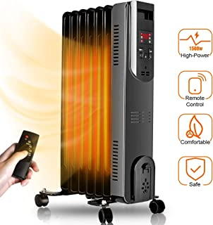 bionaire oil filled radiator heater