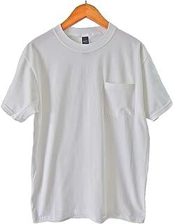 (ヘインズ) HANES BEEFY TEE POCKET ヘインズ メンズ ポケットTシャツ 5190p ビーフィー [並行輸入品]