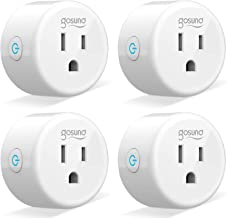 Smart Plug Gosund Smart Wifi Outlet Works with Alexa and Google Home, 2.4G Wifi Only, No..