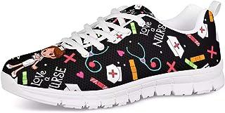 Woisttop, scarpe da ginnastica da corsa per donne e uomini Unsiex, comode, traspiranti, facili da camminare, casual, casua...