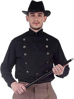 Steampunk Victorian Cosplay Costume Mens Cotton/Linen Airship Shirt