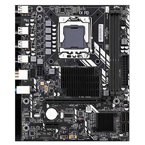 Pantalla Táctil Digitalizador Asamblea de Procesador X58 Placa Base De Escritorio 1366 Del Kit Del Sistema Con Intel Xeon E5620 Y 8 GB (4 GB * 2pcs) ECC DDR3 1333 MHz Memoria RAM Placa Madre Del Orden