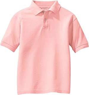 Joe's USA - Youth Polos - School Uniform Shirts in 14 Colors Sizes Youth XS-XL