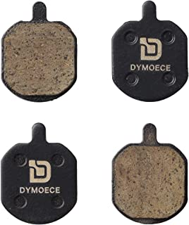 Dymoece 2 Pairs Bicycle Disc Brake Pads Compatible with Hayes Sole MX2 MX3 MX4 MX5 CX5 (Organic Resin,Semi-Metallic,Sintered Metal) SCP-MX