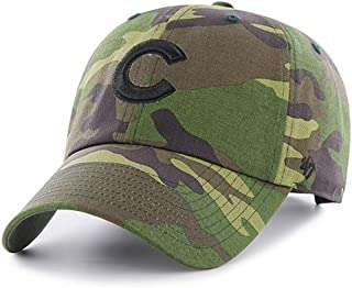 '47 Chicago Cubs Brand Unwashed Camo Clean Up Slouch Fit Hat