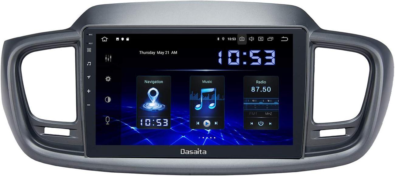 Dasaita Android 10.0 Car Stereo for Kia Sorento 2014 2015 2016 2017 2018 Radio with 10.2