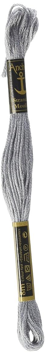 Anchor Six Strand Embroidery Floss 8.75 Yards-Grey Medium Light 12 per box