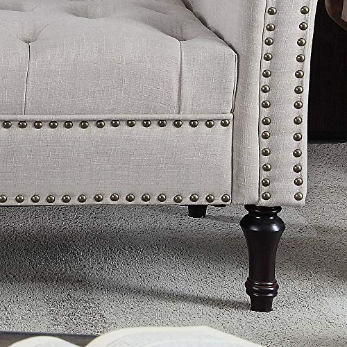 Rosevera D8-1 Deedee Chaise Lounge, Beige