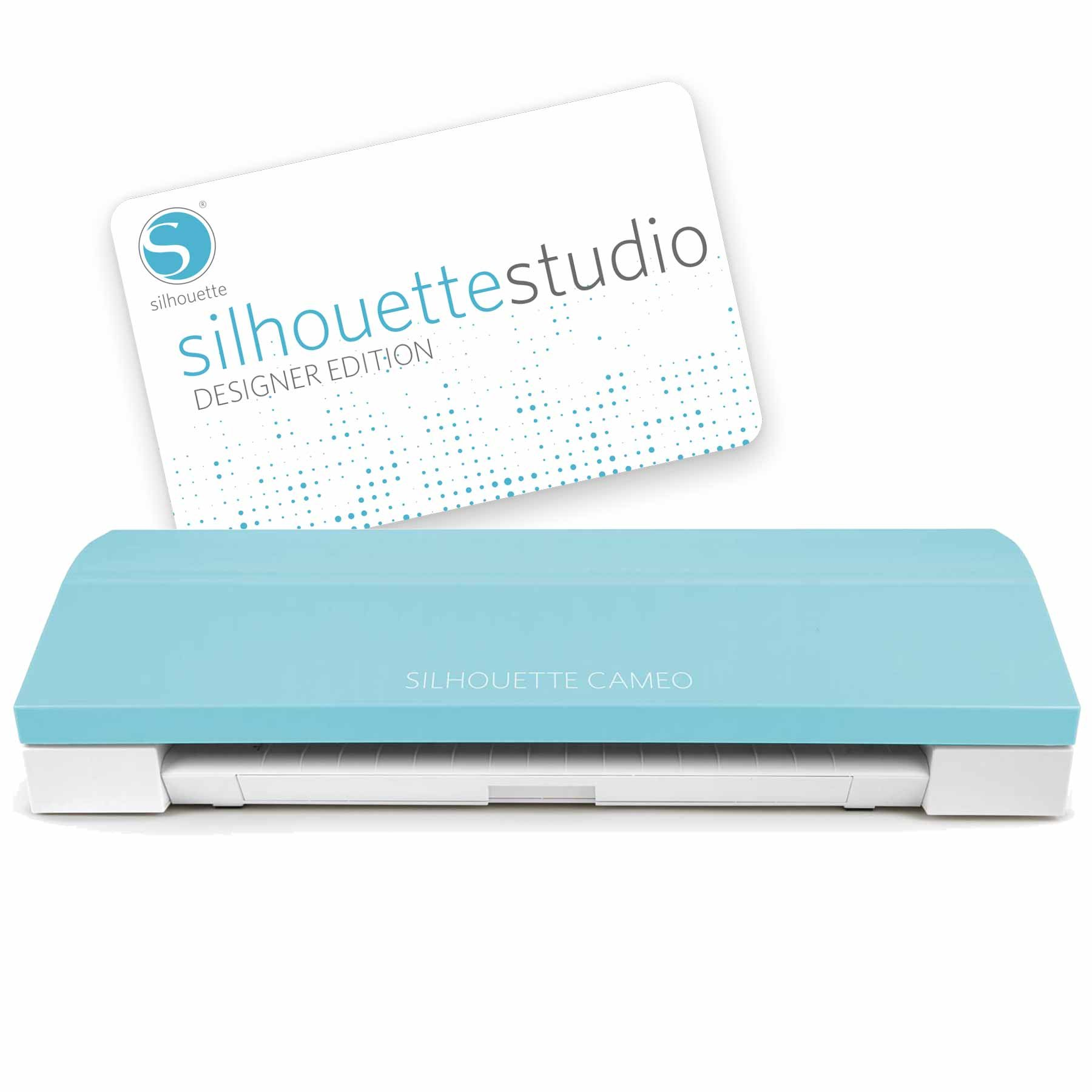 Silhouette Cameo 3 Teal + Designer Edition Software: Amazon.es ...
