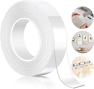 comprar comparacion Cinta Doble Cara,Nano Tape,Cinta Doble Cara Extrafuerte,5M Doble Cara Transparente Lavable Nano Tape Reutilizable Adhesiva...