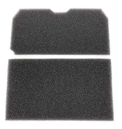 Filtro de esponja para secadora Blomberg Elektra Bregenz TKF 1350 7340 7350 7459 7449 7459 | Secadora de bomba de calor | 215 x 107 mm | Arcelik Beko 2952380100 2952560100 Grundig GT. K4749 .