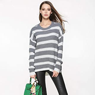 BINGSL JerséIs SuéTer,Suéteres y suéteres Largos para Mujer Suéteres Irregulares Delgados de Punto para Mujer Suéteres Cas...