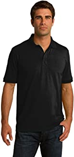Clothe Co. Men's Big & Tall Short Sleeve Jersey Knit Polo Shirt