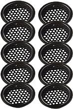 Ventilatiegatplaat 10 stks garderobe kast mesh gat roestvrijstalen louver air ventilation cover set Afzuiging (Color : 29m...